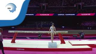 Fien ENGHELS (BEL) - 2018 Artistic Gymnastics Europeans, junior beam final