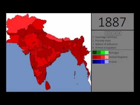 Every Year of Indian Colonialism