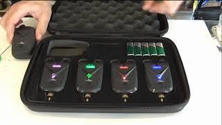 Набор сигнализаторов поклёвки с пейджером FA213 (4+1) от компании EastShark