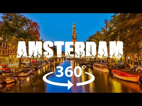 Amsterdam Travel 360° Video - Experience Dam in Every Corner