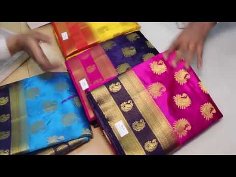 latest designer silk saree or tradiitional silk saree for wedding and bridal partys33