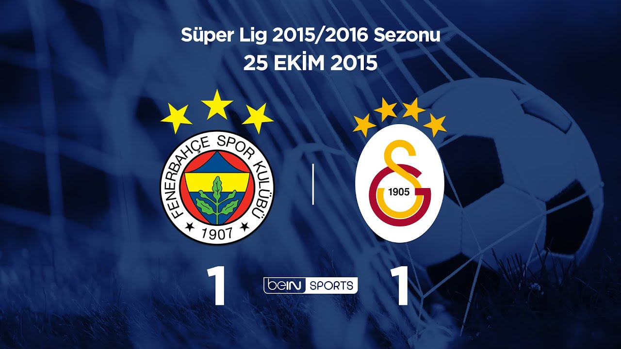 25.10.2015 | Fenerbahçe-Galatasaray | 1-1