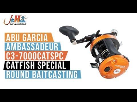 Abu Garcia Ambassadeur C3-7000CATSPC Catfish Special Round Baitcasting | J&H Tackle