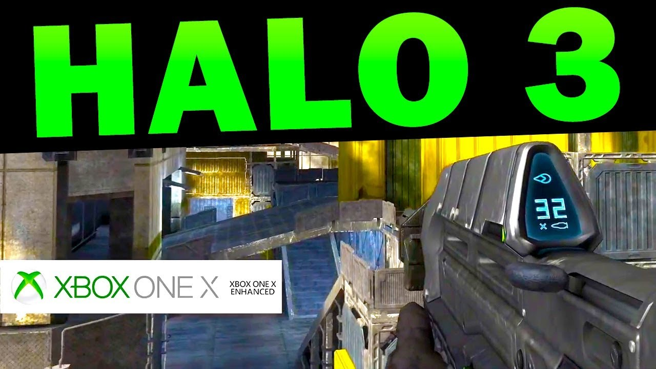 Halo 3 Getting Xbox One X Enhancements YouTube