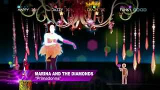 Marina & The Diamonds - Primadonna | Just Dance 4 | DLC Gameplay