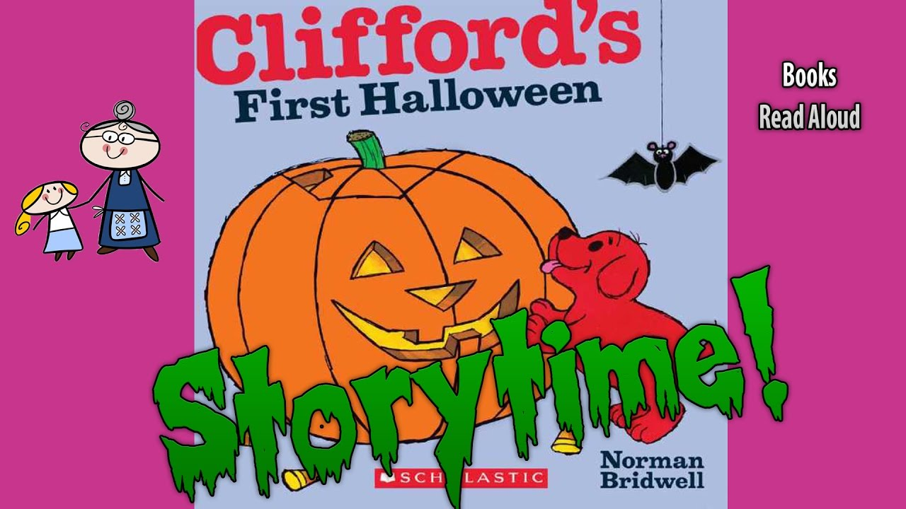 halloween stories cliffords first halloween read aloud bedtime story read along books