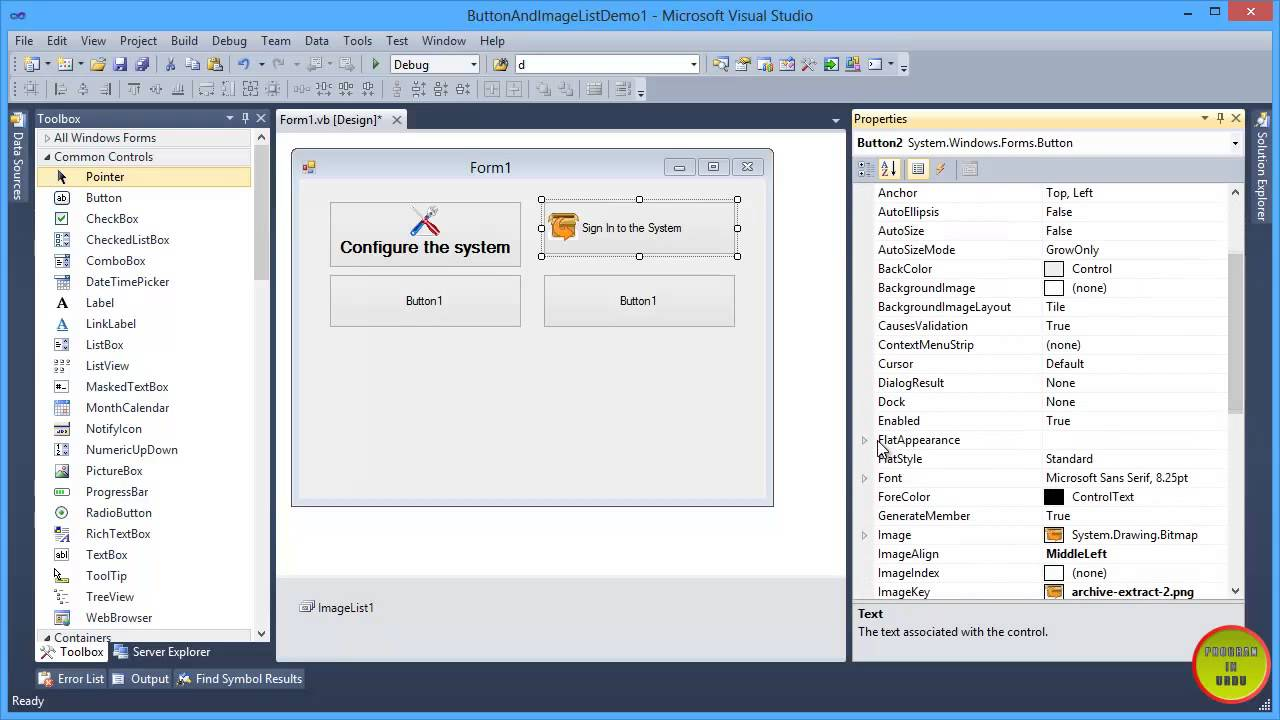 visual basic how to find hidden buttons