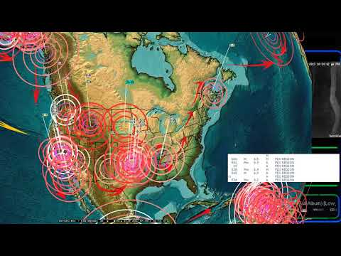 "8/18/2017 -- Global ""earthquake unrest event"" underway -- Large EQ's possible this week -- BE READY"
