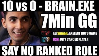 10 vs 0 WHY THIS HAPPENED? Say No To RANKED ROLE ABUSER - More Infomation is in Description