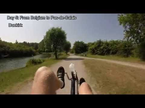 From Germany to Wales on a recumbent bike