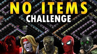 Attempt 001: Labyrinth of Legends No Items (except energy) | Marvel Contest of Champions Live Stream