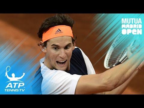 Rafa and Thiem power on, magic from Cuevas | Mutua Madrid Open 2017 Highlights Day 6