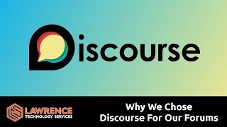 Why We Chose The Discourse Platform For Our Forums