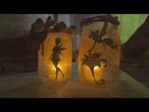 Mason Jar Fairy Lanterns