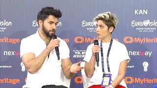 🇦🇿 Chingiz Press Conference@Eurovision 2019 Second Rehearsal