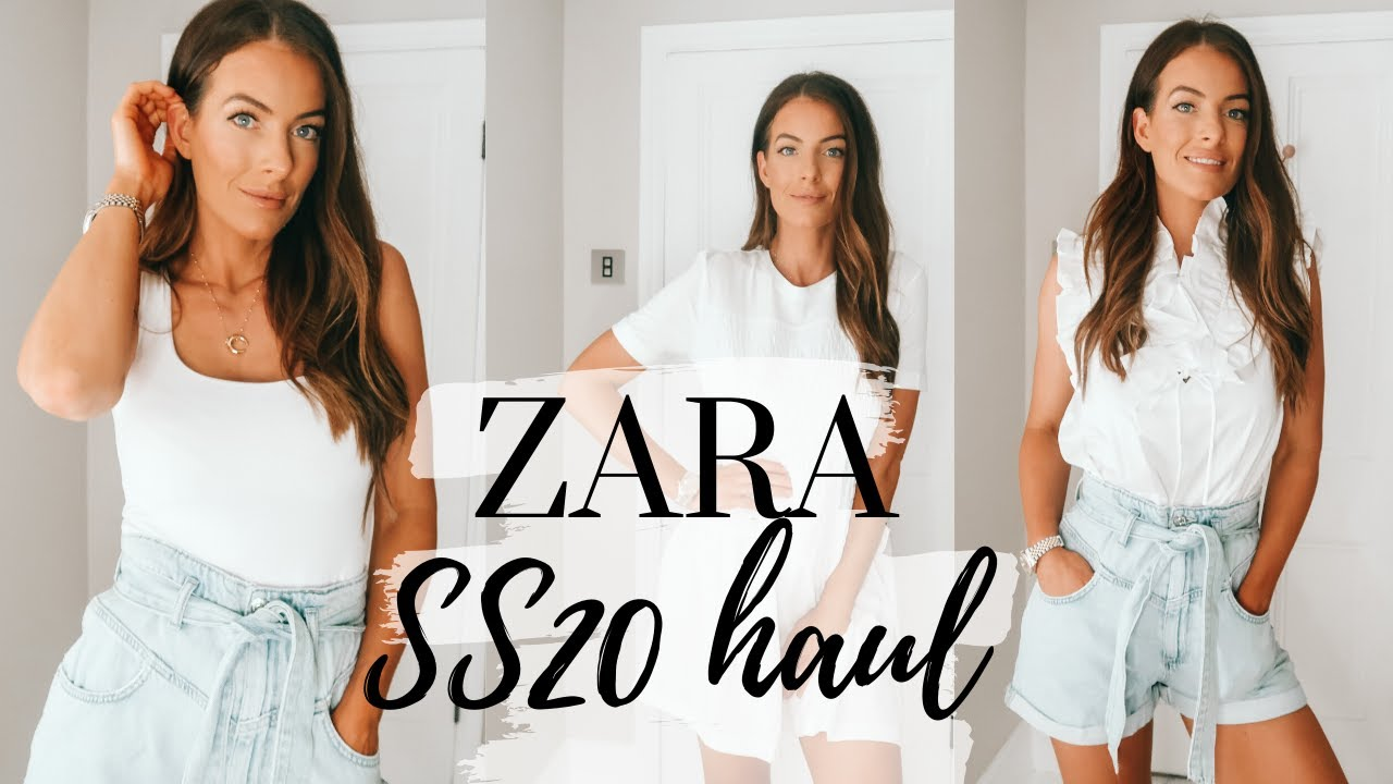 MINI ZARA HAUL | NEW IN ZARA | SS20