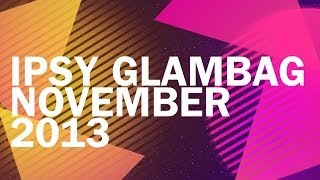 Ipsy Glambag November 2013 (English & Spanish) Thumbnail
