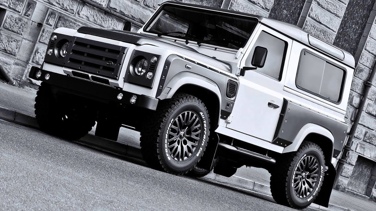 2013 land rover defender by kahn design youtube - A Kahn Design Land Rover Defender Xs 90 Branco Cinza Perolizado Aro 16 2 2 Tdci