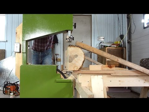 Using the Glowforge Laser Cutter, Improving an Improbable Sawmill