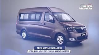 Changan M90 - Nueva minivan