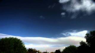 Nice rolling lenticular clouds timelapse Canon SX10 V10477