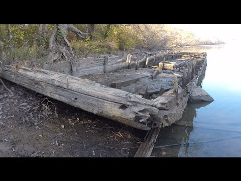 Magnet Fishing: Gigantic Sunken Ferry Discovered