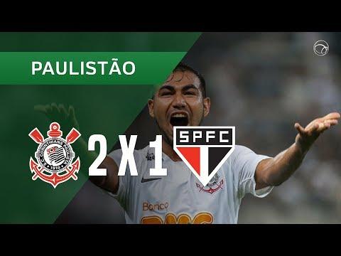 CORINTHIANS 2 X 1 SÃO PAULO - GOLS - 17/02 - CAMPEONATO PAULISTA 2019 (Vídeo)
