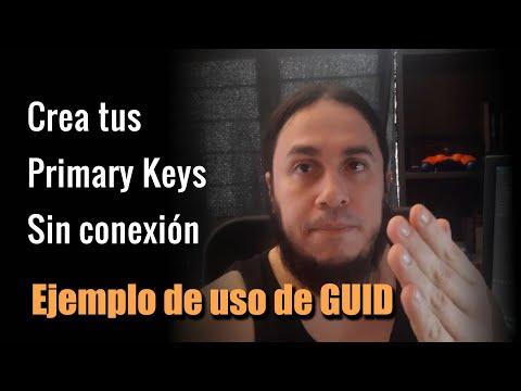 🔑 Crear Primary Keys sin Conexión, El uso del Identificador GUID