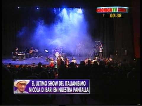 NICOLA DI BARI en Argentina - Zingara - en Cronica TV ...