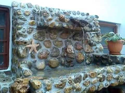 Fuente de piedra de r o dise o ing eric cort s bello for Cascadas para jardin piedra