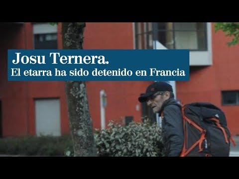 Detienen a Josu Ternera en Francia