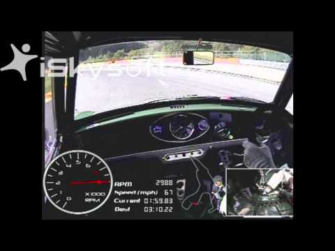 Brendon Hartley onboard Spa lap record in a Mini cooper S