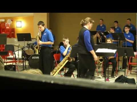 Reeds Brook Middle School MOJO Jazz Band-Chameleon (Districts)