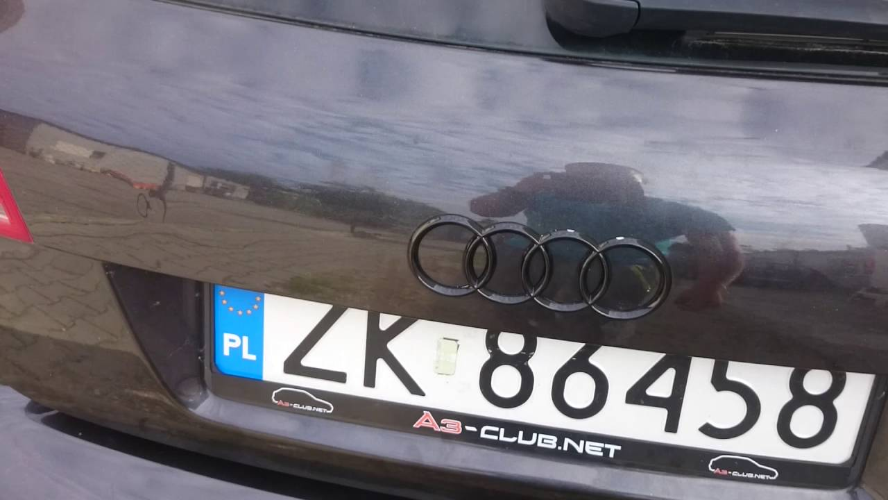 Elektryczna Klapa Bagaznika Audi A3 8p Youtube