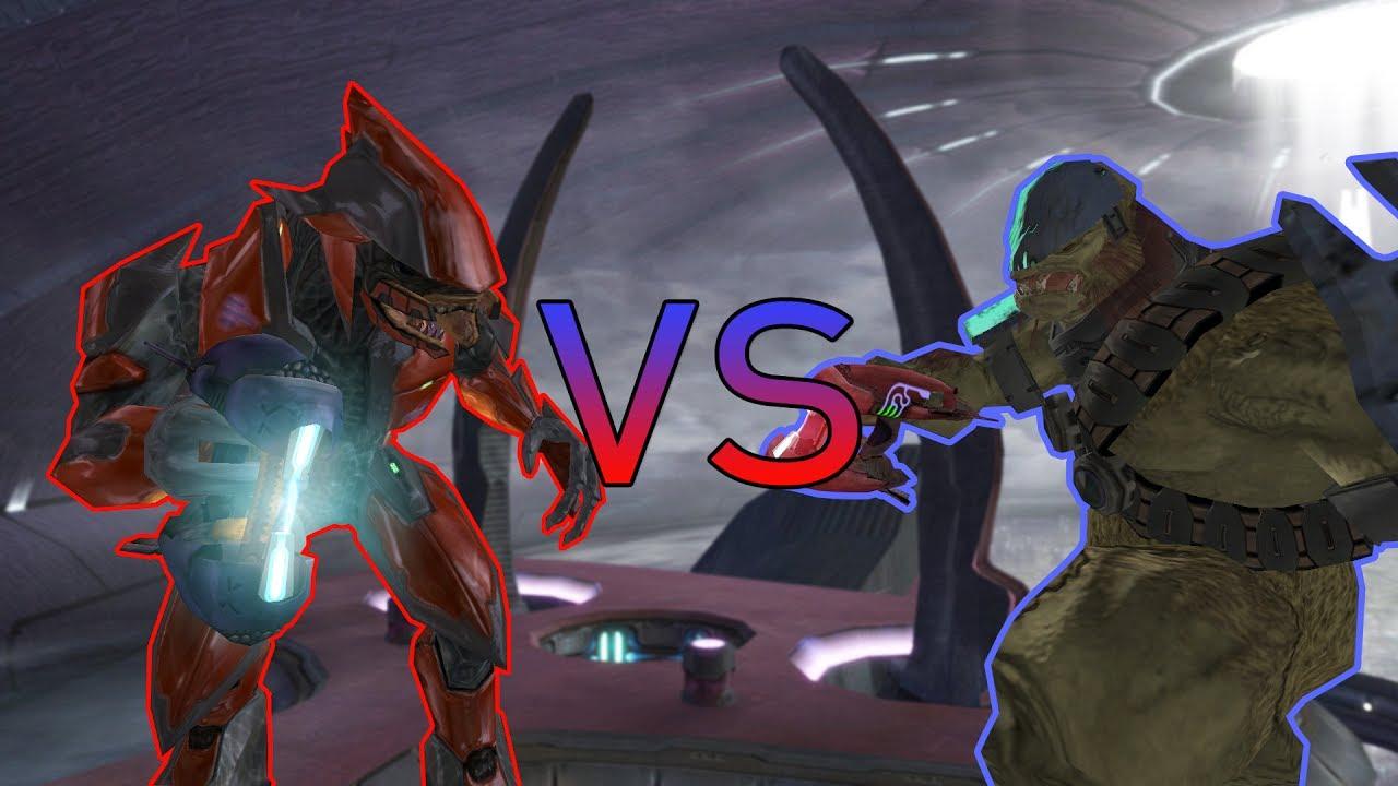 halo 2 ai battle elite majors vs brute majors youtube