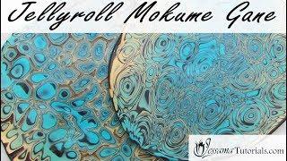 Polymer Clay Mokume Gane: Jellyroll Mokume Gane Tutorial