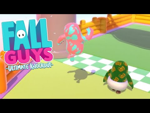 Fall Guys: Ultimate Knockout – Lil Green Guy Was Just Chillin SEASON 3 [PS4 Gameplay]