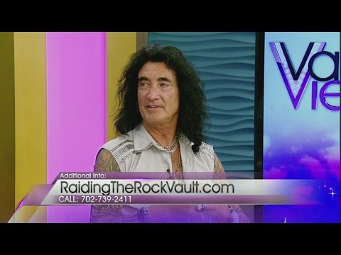 Robin McAuley guest hosts on Valley View Live!