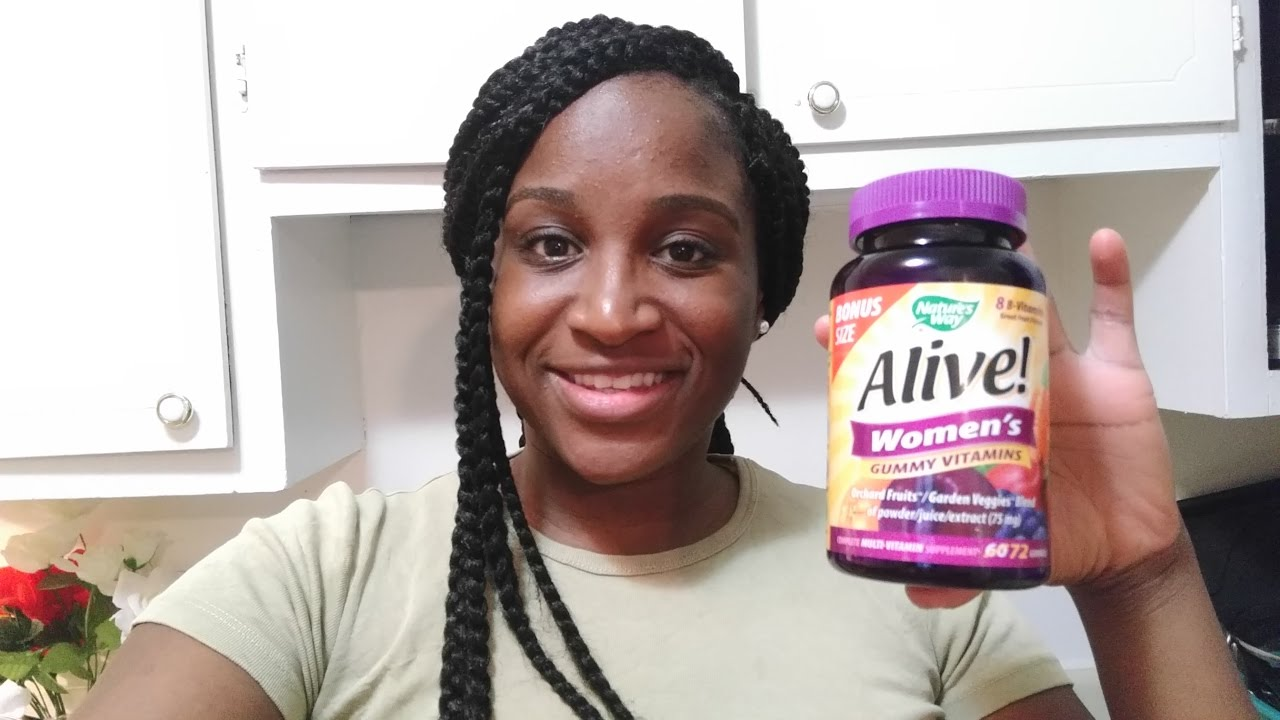 1 Month Review On Alive Multivitamin Gummies Youtube