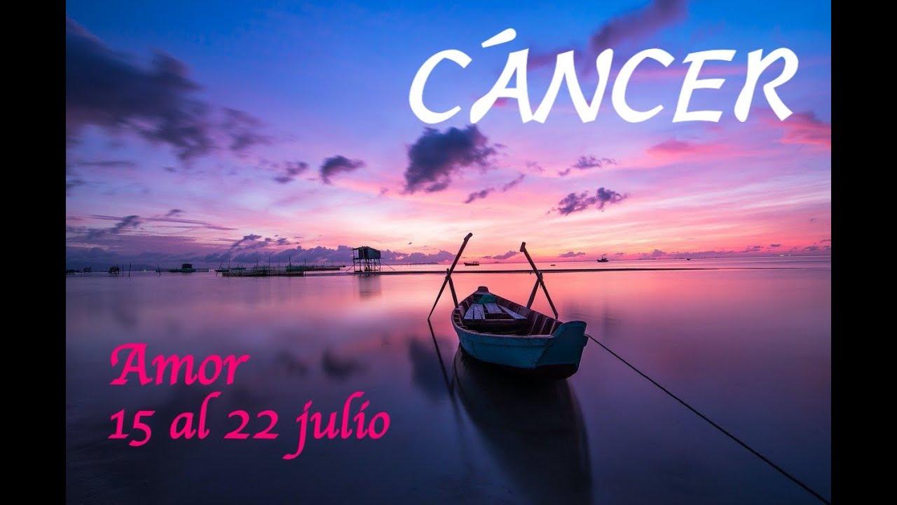 CÁNCER♋️ AMOR💞⭐️15 AL 22  JULIO 2020⭐️