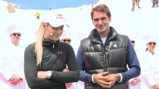 Darum hat Federer Vonn in die Schweizer Berge geholt