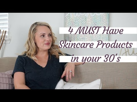 4 MUST Have Anti-Aging Ingredients in your 30's || Skincare Sunday- Elle Leary Artistry