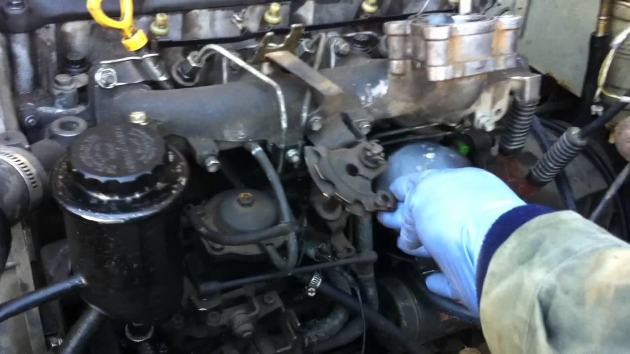 Land Cruiser Toyota Bj 43 Moteur Chassis Kzj 73 Youtube