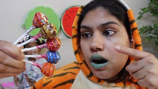Five Chupa Chup Lollipop Unboxing by Fahsin and Ishfi