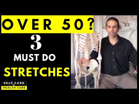 Over 50? 3 MUST do stretches before it's too late