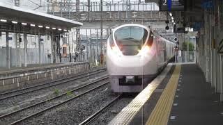 常磐線E657系特急ひたち16号品川行土浦駅高速通過※警笛あり