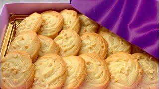 Bánh quy bơ(butter cookies)_cách làm bánh quy bơ thơm ngon rất đơn giản_Bếp Hoa