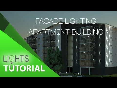 Façade Lighting Design in Revit  Bringing Buildings to Life c96094bde2
