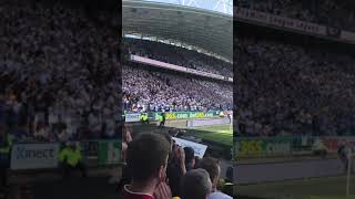 2018-05-13 Full credit to Huddersfield fans for a minute of appreciation to Wenger in 22nd minute 👏