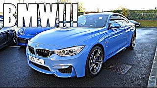 THE BMW M4 TEST DRIVE!!